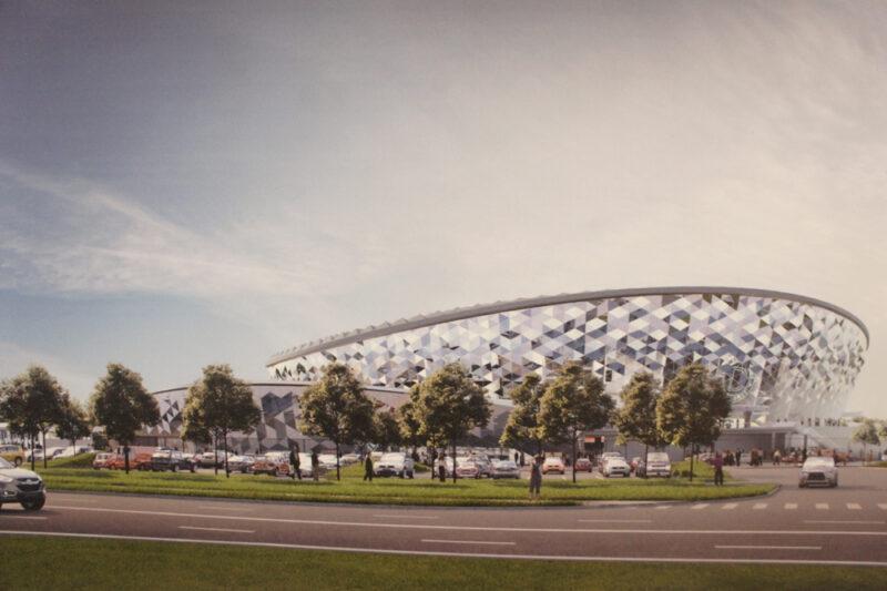 Так будет выглядеть новый ЛДС в Новосибирске