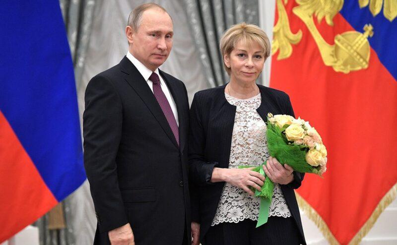 Елизавета Глинка и Владимир Путин