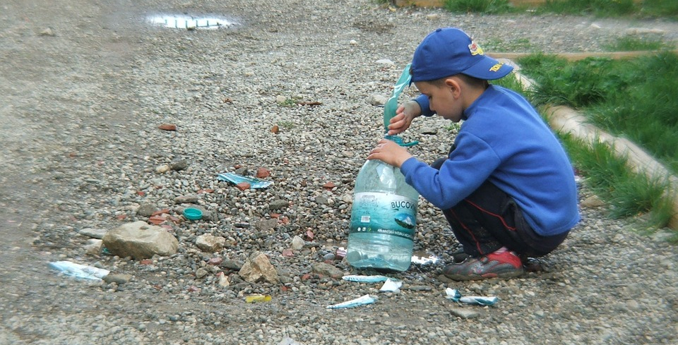 дети и мусор