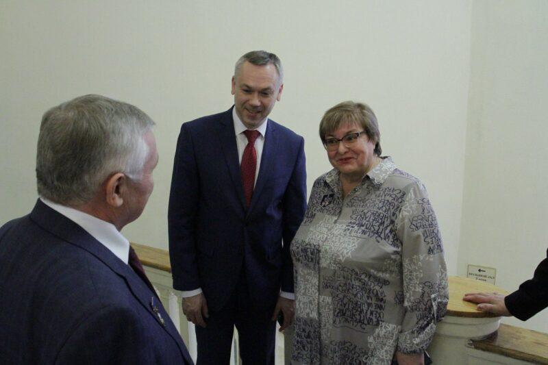 Надежда Лобанова и Андрей Травников