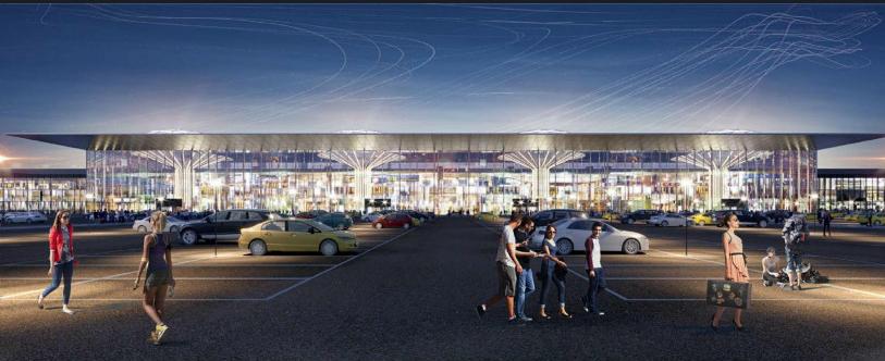 проект аэропорта Толмачево