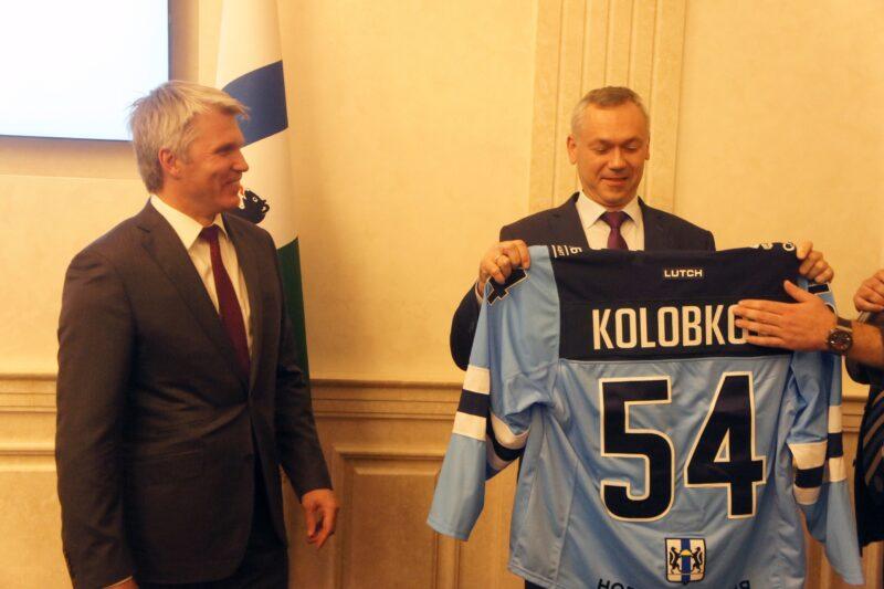 Андрей Травников и Павел Колобков