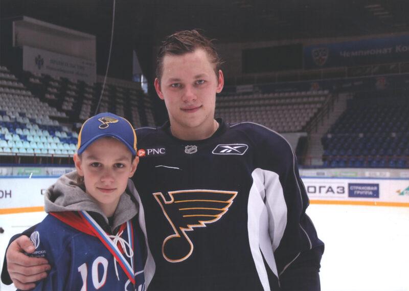 Владимир Тарасенко с младшим братом Валентином