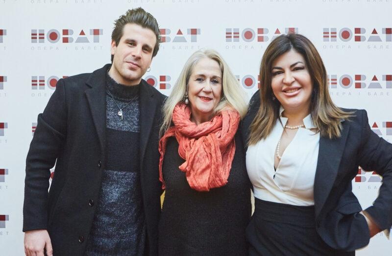 Слева направо: М. Брунелли, П. Каллегарини, В. Джиоева. Фото В. Дмитриева