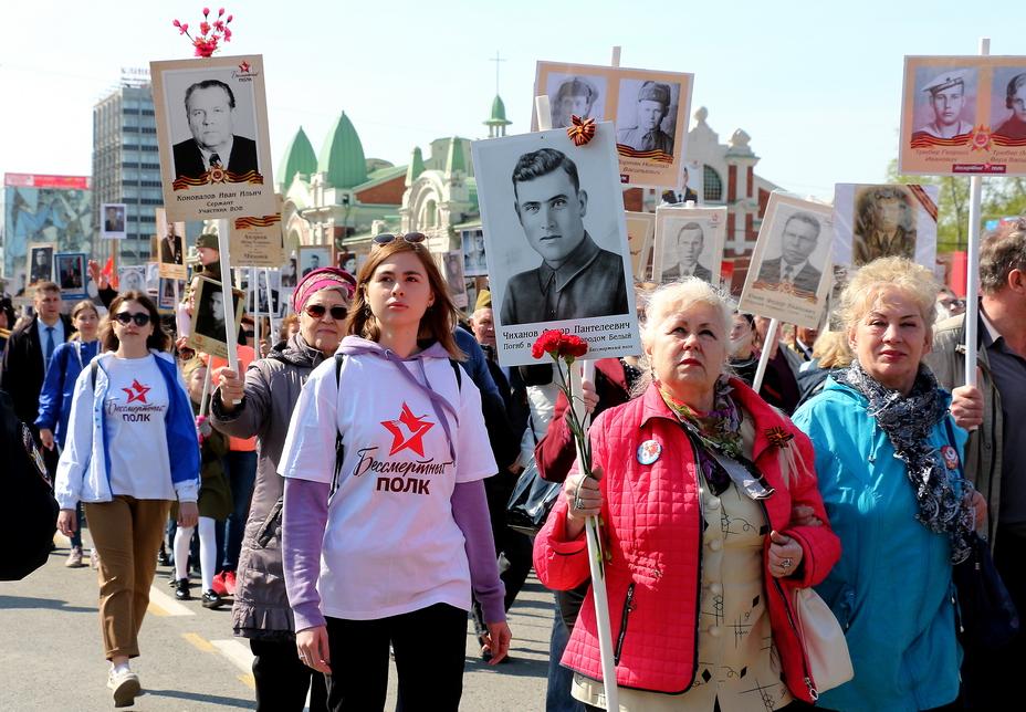 Парад Победы в Новосибирске