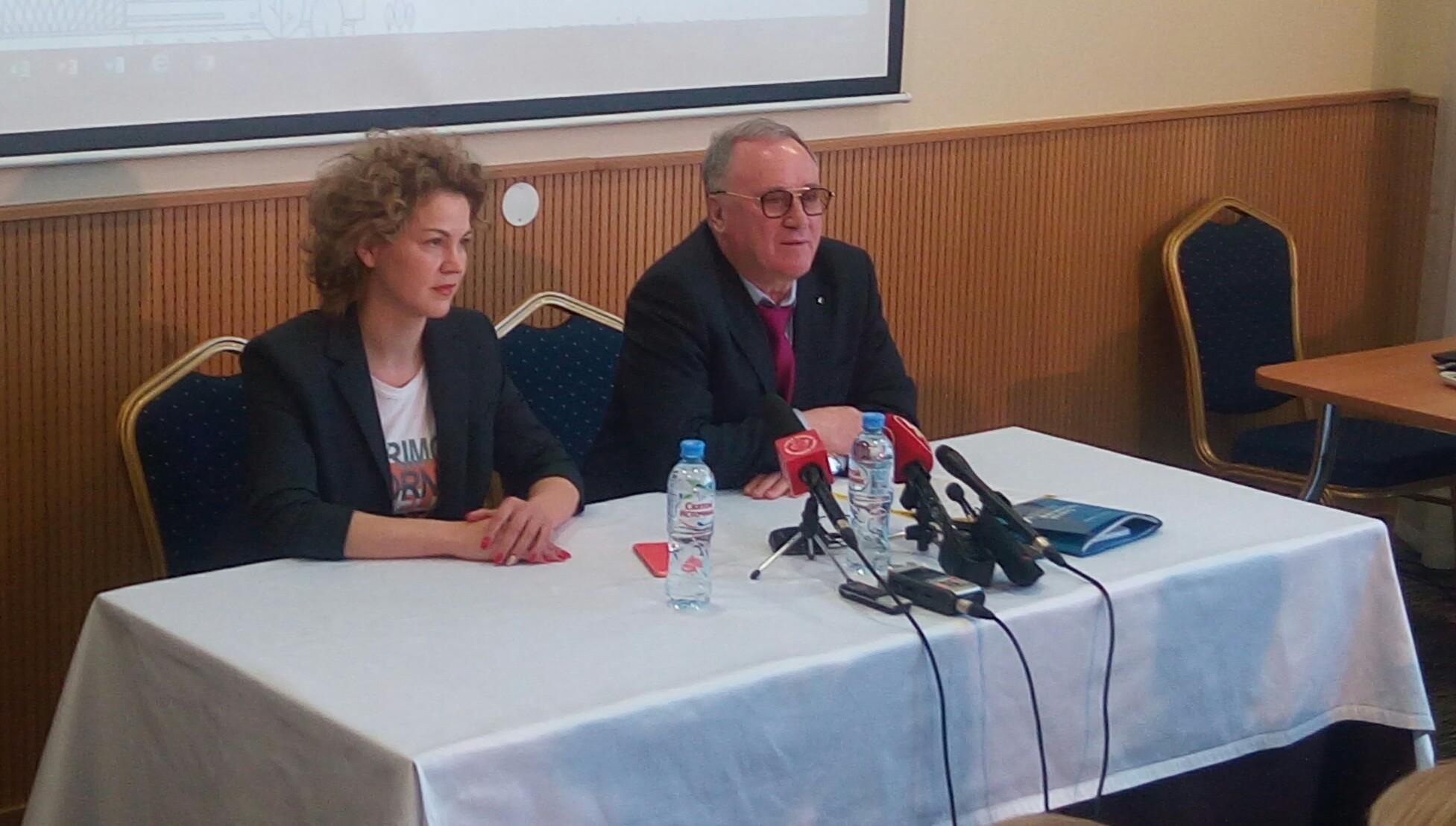 Сергей Проничев на пресс-конференции 26 марта