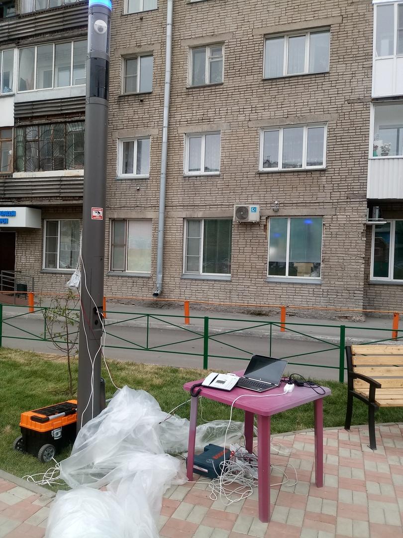 Умный сквер в Новосибирске
