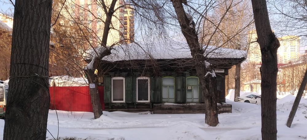 Фасад дома Янки Дягилевой