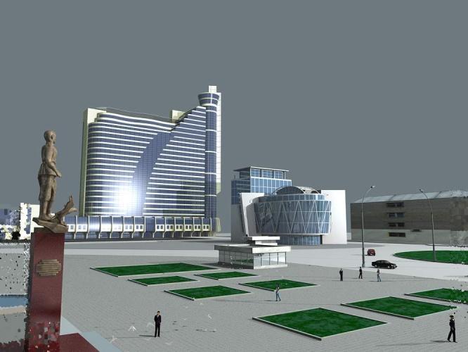 Проект реконструкции гостиницы «Турист 2006 год Автор — Коваленко Константин