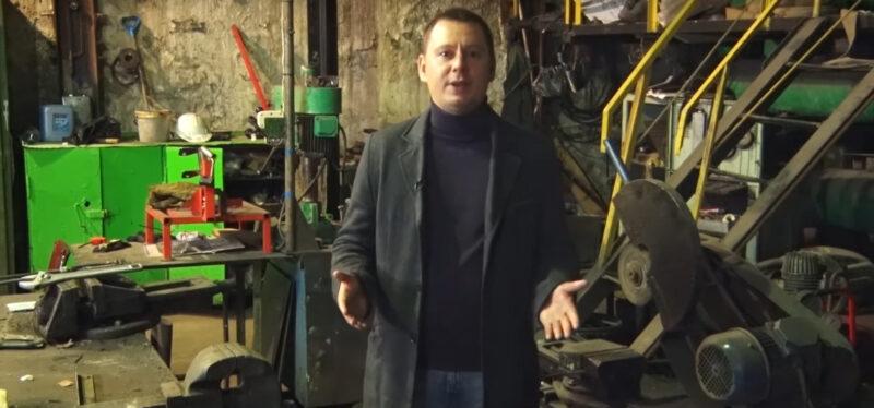 Кадр из видеообращения Николая Сальникова