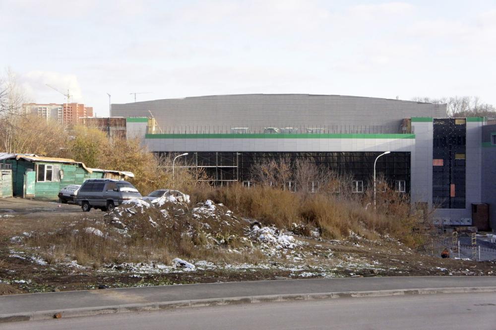 На прилегающей к центру волейбола территории будут произведены работы по благоустройству. Фото автора