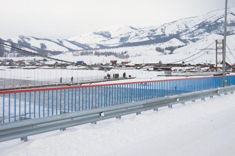 В Республике Алтай открылся мост, который строили шесть лет