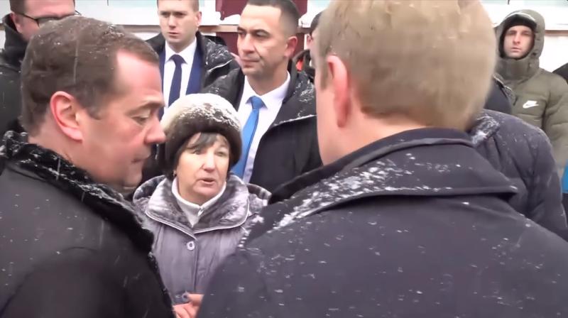 Медведев в Алтайском крае