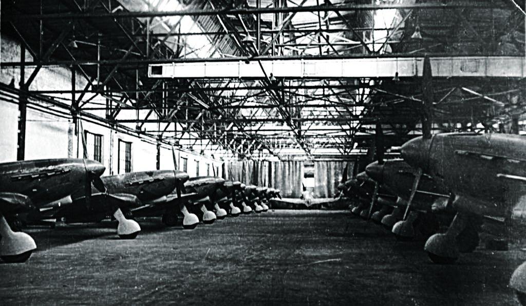 Завод во время войны