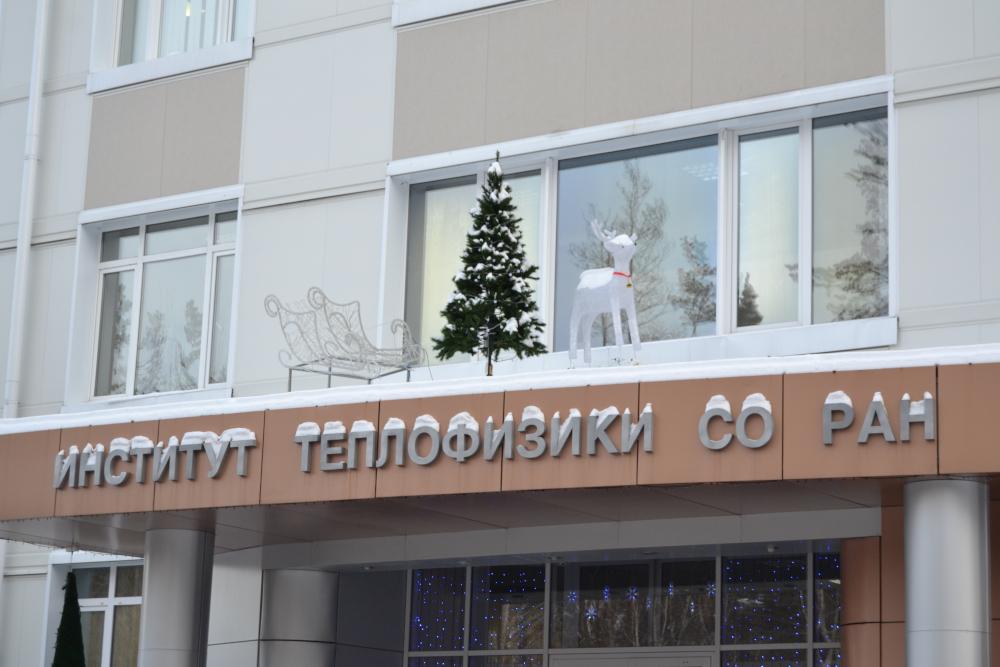 Новогодний Академгородок