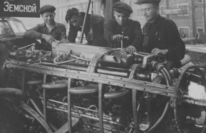 Завод Чкалова в годы Войны