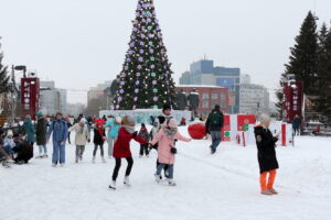 Рождество в Новосибирске