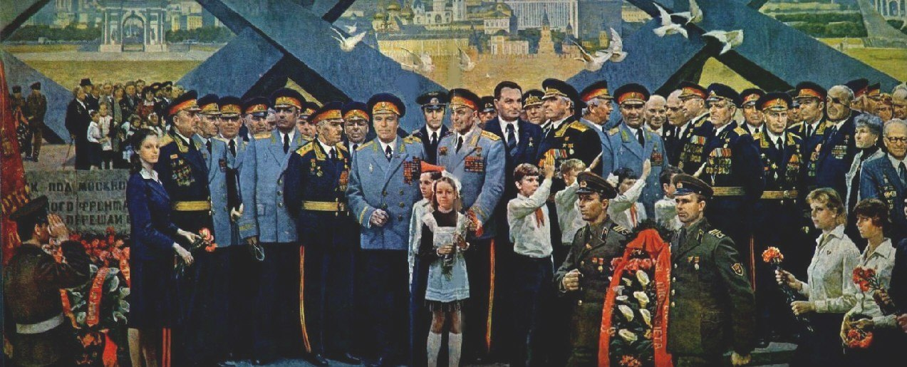 "Н. Соломин ""Рубежи славы"", 1985"