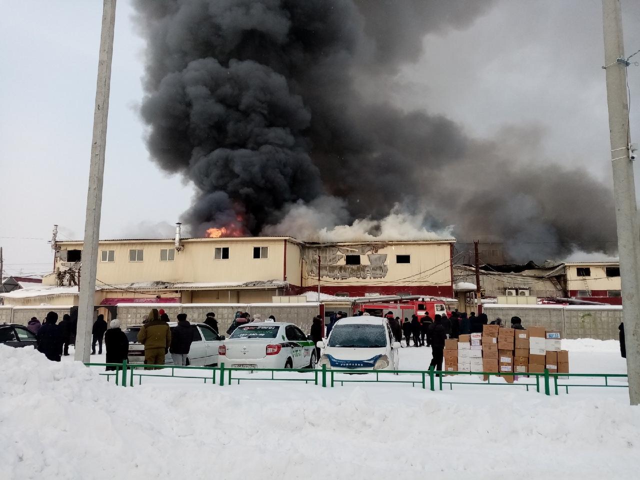 пожар в Искитиме