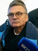 На фото: Президент IIHF (Международной федерации хоккея на льду) Рене Фазель. Фото автора