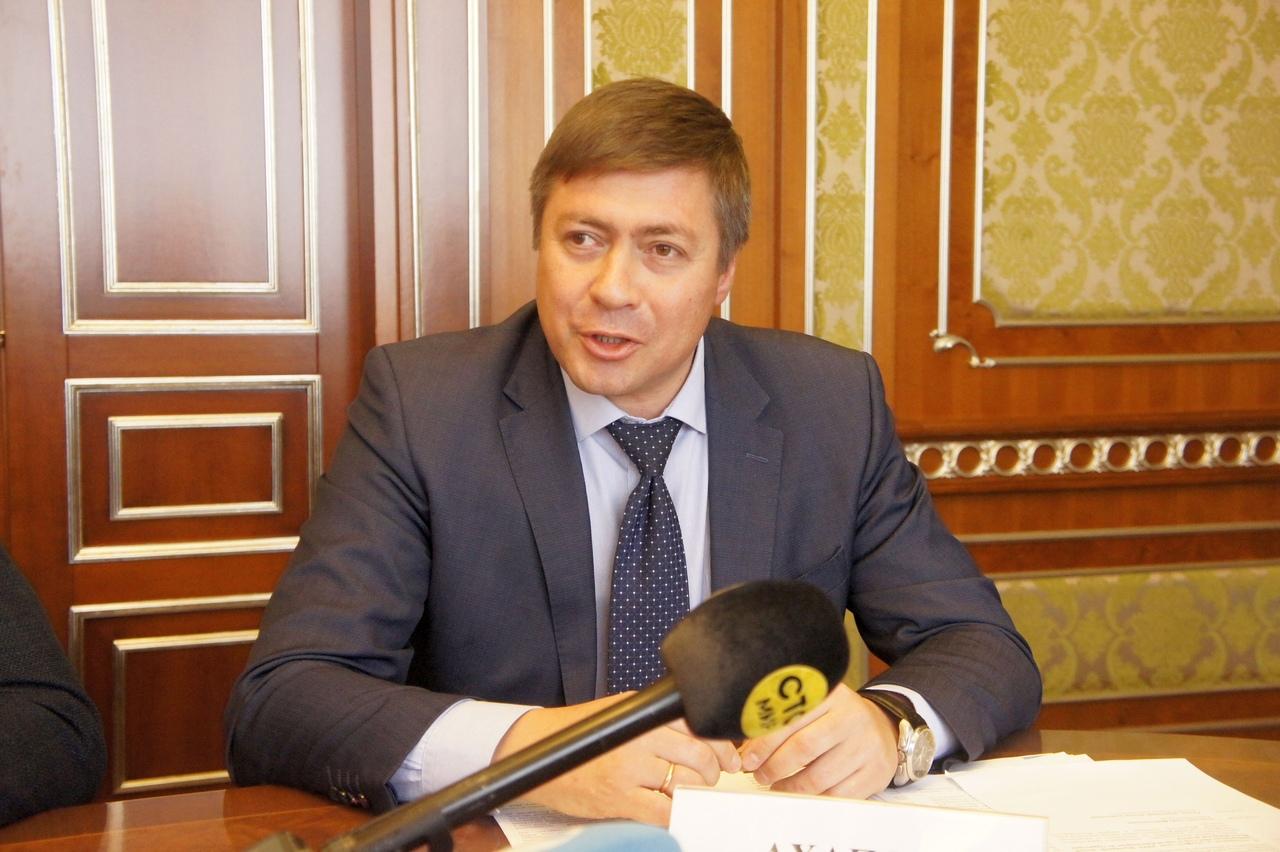 Министр физической культуры и спорта Новосибирской области Сергей Ахапов. Фото автора