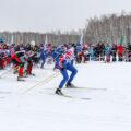 Лыжня России в Новосибирске