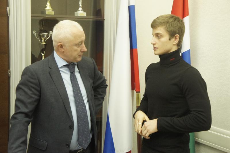Вячеслав Братцев возлагает большие надежды на Ивана Стретовича (справа) в свете приближающейся Олимпиады в Токио
