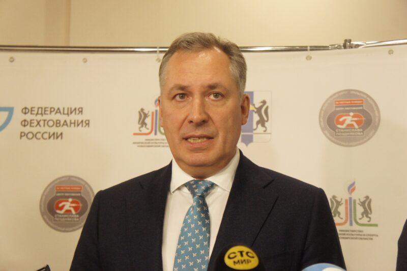 Четырехкратный олимпийский чемпион по фехтованию на саблях Станислав Поздняков в прошлом году открыл в Новосибирске центр своего имени. Фото автора