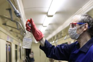 Ночной фоторепортаж из новосибирского метро