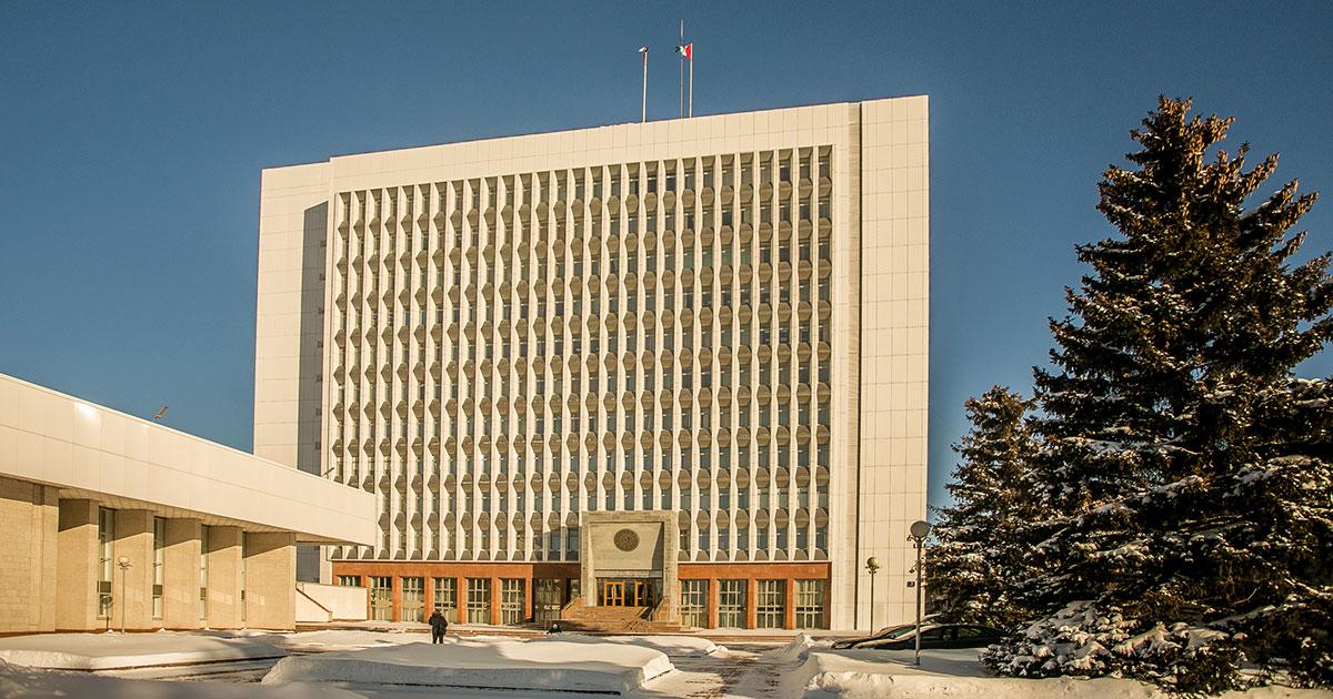 Здание Заксобрания НСО