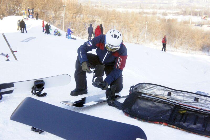 Доска в сноуборде требует особого ухода. Фото автора