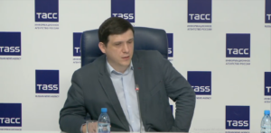 Директор КТИ Петр Завьялов на пресс-конференции