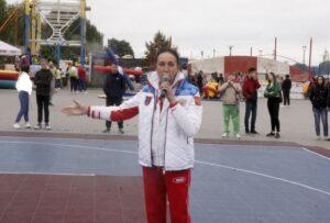 Олимпийская чемпионка-1992 по баскетболу Ирина Минх. Фото автора