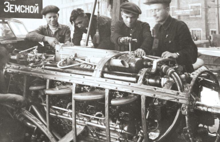 В Новосибирске в годы войны