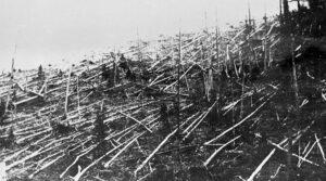 Так выглядела тайга в 1927 году, когда ученые добрались до места падения Тунгусского метеорита