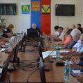 Внеочередная сессия Совета депутатов Искитимского района под председательством Александра Рукаса. 16 августа 2016 года. Фото: isksovdep.ru