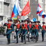 75 лет Великой Победы: военный парад в Новосибирске (фото)