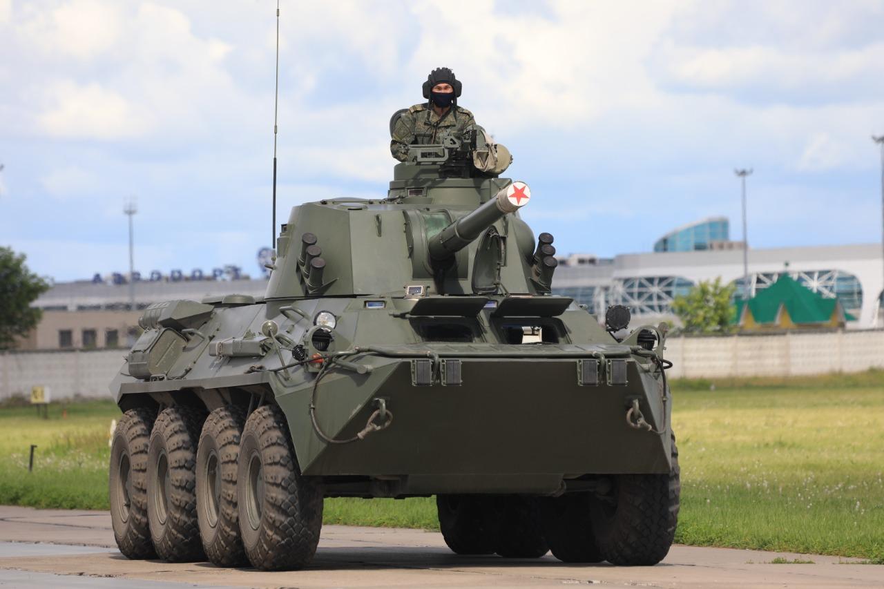 Репетиция парада Победы в Новосибирске 16 июня. Фото: ЦВО