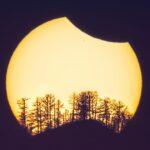 Солнечное затмение в Горном Алтае, 2015 год. Фото: Светлана Казина