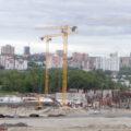 Строящийся ледовый дворец спорта на Горской. Фото автора