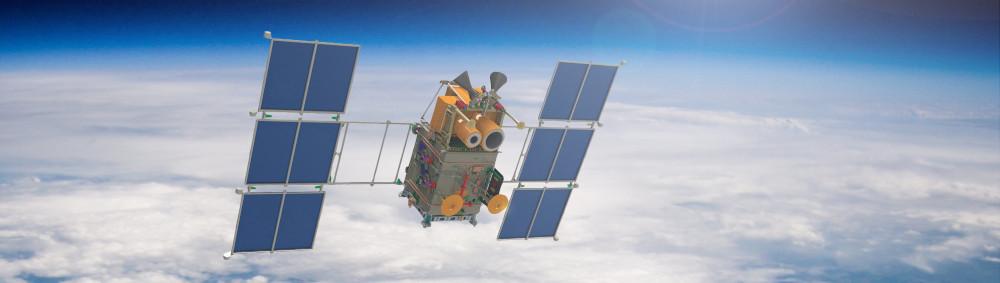 Вот так выглядит аппарат «Канопус-В». Фото: m.123ru.net