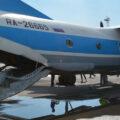 самолет-зондировщик Ан-26 с веерной установкой