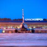 Задымился и сел пассажирский самолет в Красноярске
