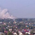 Анатолий Локоть о пожаре на мусорном полигоне: «Проблема носит системный характер»