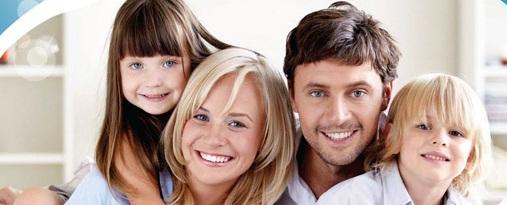 Типичная рекламная семья