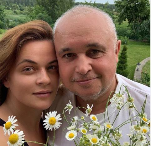 Сергей Цивилев с женой