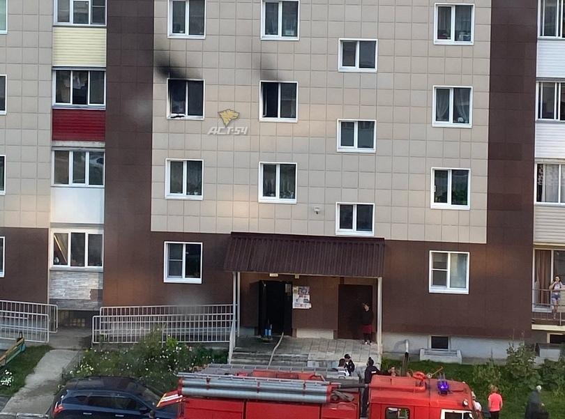 ясно, фото пожаров в новосибирске поразила