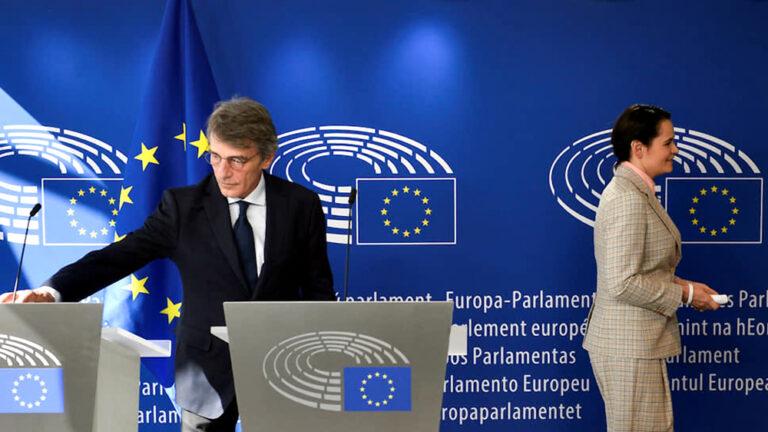Светлану Тихановскую приняли в Брюсселе министры иностранных дел стран—членов ЕС