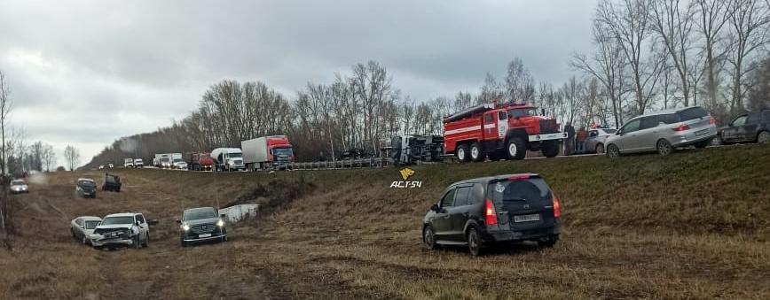 две аварии в новосибирске