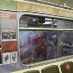 В поезде-музее Новосибирска открыли выставку участника войны Вениамина Чебанова